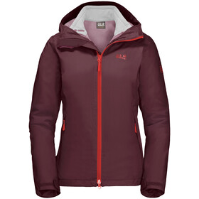 Jack Wolfskin Gotland 3-in-1 Jas Dames, fall red